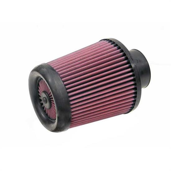 K&N RX-4870 X-Stream Clamp-On Air Filter, 6.5in Tall, Round Tapered