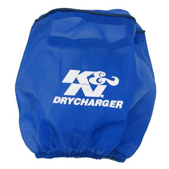 K&N RX-4990DL DryCharger Air Filter Wrap, 5.563in Tall, Blue