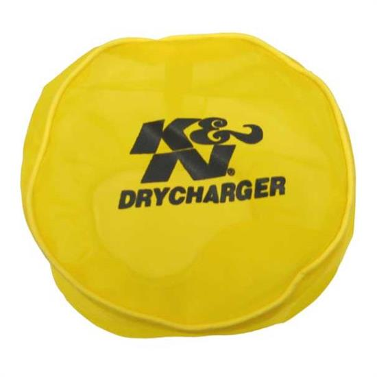 K&N RX-4990DY DryCharger Air Filter Wrap, 5.563in Tall, Yellow