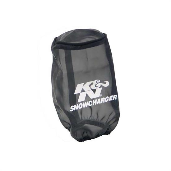 K&N SN-2510PK SnowCharger Air Filter Wrap, 6in Tall, Black