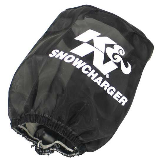 K&N SN-2530PK SnowCharger Air Filter Wrap, 4in Tall, Black