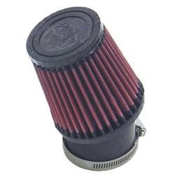 K&N SN-2530 Powersports Air Filter, 4in Tall, Round Tapered