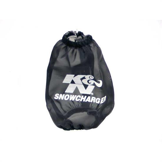 K&N SN-2570PK SnowCharger Air Filter Wrap, 5in Tall, Black