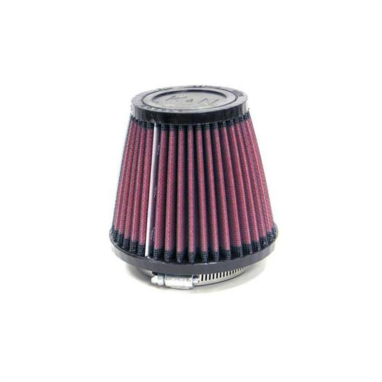 K&N SN-2580 Powersports Air Filter, 4in Tall, Round Tapered