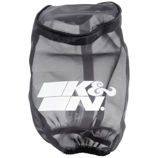 K&N SN-2620PK SnowCharger Air Filter Wrap, 6in Tall, Black