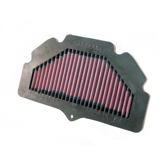 K&N SU-6006 Powersports Air Filter, Suzuki 600-750