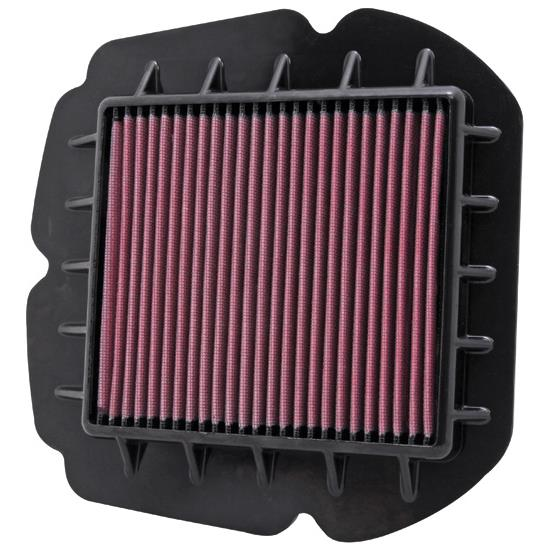 K&N SU-6509 Powersports Air Filter, Suzuki 645-652
