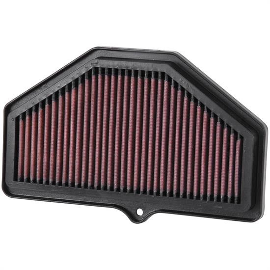 K&N SU-7504 Powersports Air Filter, Suzuki 600-750