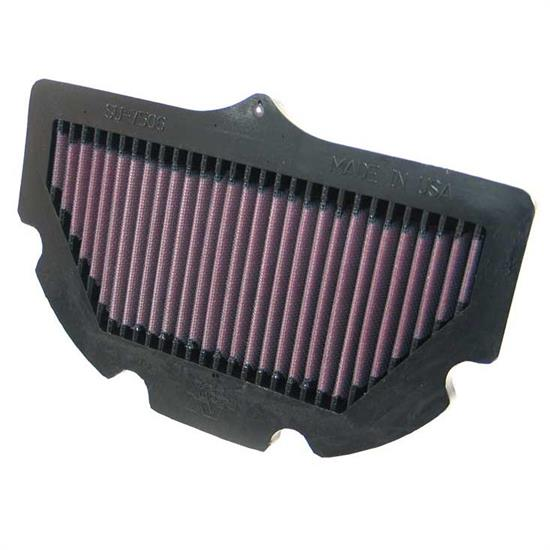 K&N SU-7506 Powersports Air Filter, Suzuki 600-750