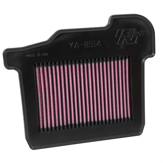 K&N YA-8514 Powersports Air Filter, Yamaha 847-850