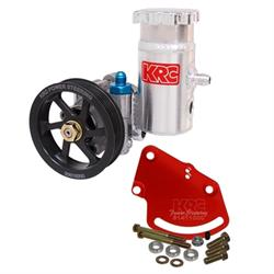 KRC 68020110 Alum SBC Pump Kit-Serpentine Head Mount Bolt-On Reservoir