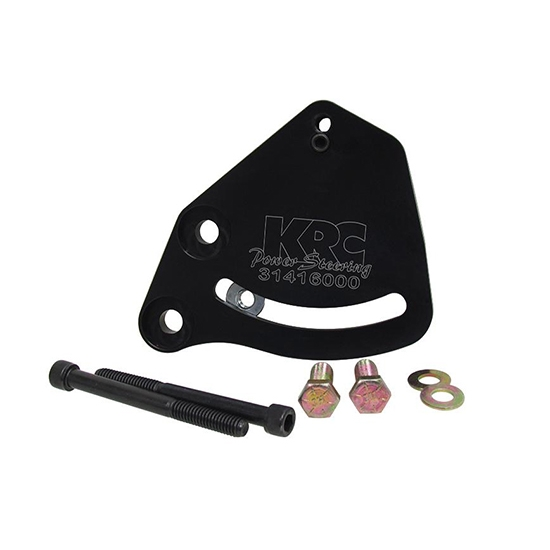 KRC 31415000 Chevy Deluxe Power Steering Pump Bracket, LH Block Mount
