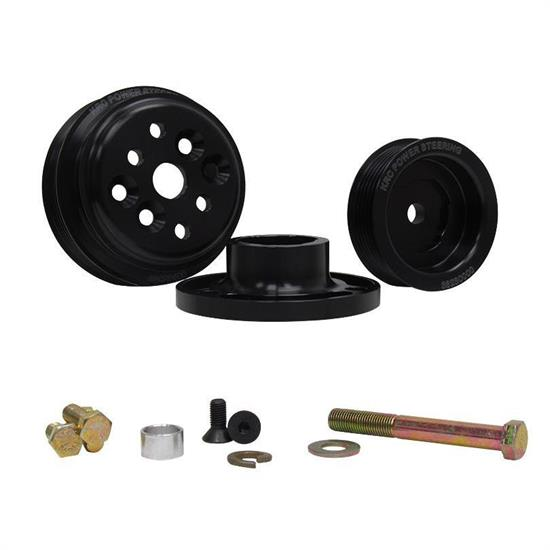 KRC 36403000 Serpentine Pulley Kit, SB Chevy