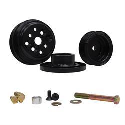 KRC 36403000 Serpentine Pulley Kit, SB Chevy