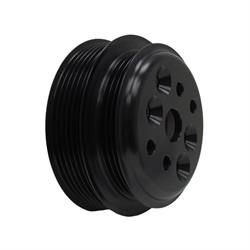 KRC 38025400 Water Pump Pulley, SB Chevy/Ford, Aluminum, Black