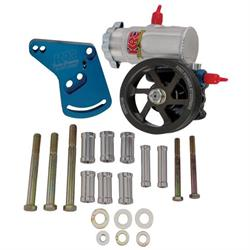 KRC Ford 351W Cast Iron Power Steering Pump Kit-Serpentine