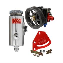 KRC 59020015 Cast Iron SBC Pump Kit Serpentine Block Mount Remote Tank