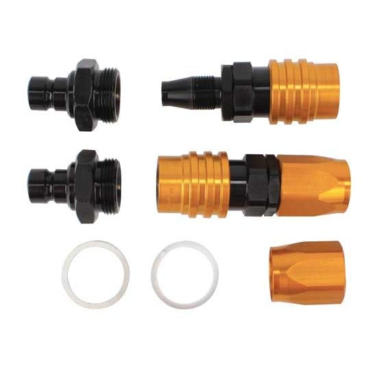 Jiffy-Tite 300C1B Quick Connect Carb Fitting Kit, Alcohol