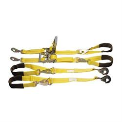 Four-Point Tie Down Kit, 10, 000 lb. Rating