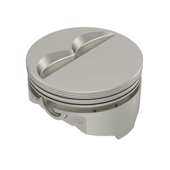 KB Chevy 400 Hyperutectic Pistons, Flat Top, 6.0 Rod