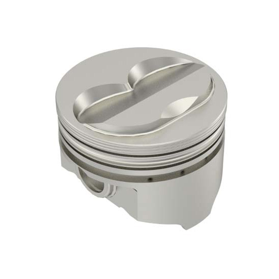 KB Chevy 305 Hypereutectic Pistons, .100 Dome, 5.7 Rod