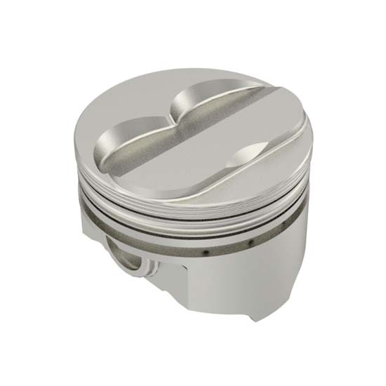 KB Chevy 350 Hypereutectic Pistons, .200 Dome, 5.7 Rod