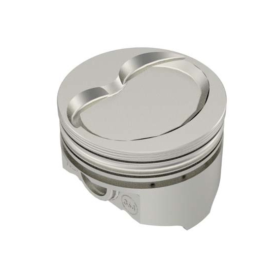 KB Ford 396 Hypereutectic Pistons, Dish, 5.956 Rod