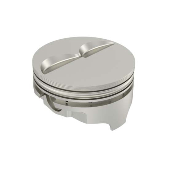 Icon Chevy 350 Forged Pistons, Flat Top, 6.0 Rod