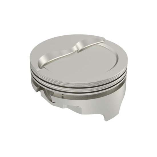Icon Chevy 383 Forged Pistons, Dish, 6.0 Inch Rod
