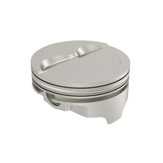 Icon Chevy 377 Forged Pistons, Dish, 6.0 Rod