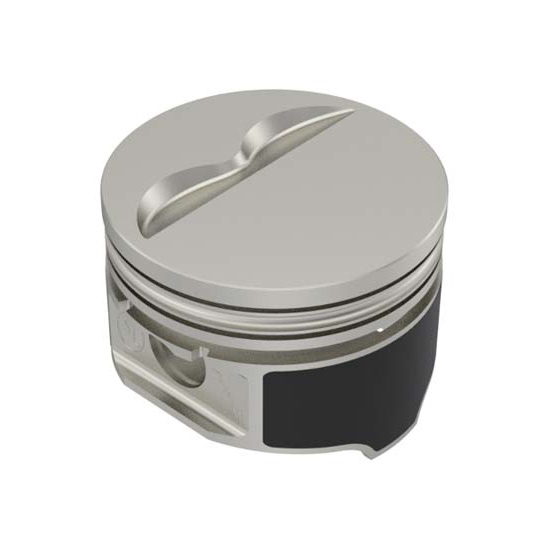 8 compatible with Chevy 350//5.7 STD 4.00 Bore Diameter Speed Pro Hypereutectic Coated Skirt Dish Pistons Set of