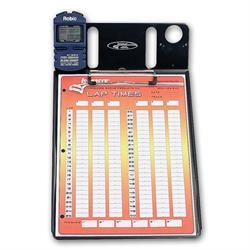 Longacre 22319 1 Car Stopwatch Clipboard w/Robic SC 606W Timer