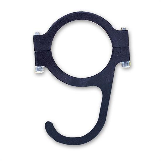 Longacre 22572 Helmet Hook, Clamp On, For 1-1/2 Inch Roll Bar