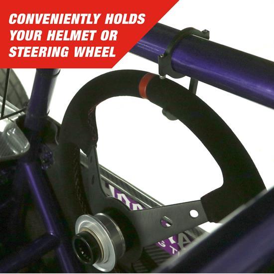 Clamp On 1-1//2 Bar Longacre® 52-22577 Steering Wheel Hook