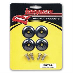 Longacre 23702 Backing Disk For Spoiler Support, Black, Pack of 4