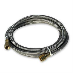 Longacre 33900 Braided Teflon Fuel Line, -8AN 1/2 Inch, 144 Inch Long