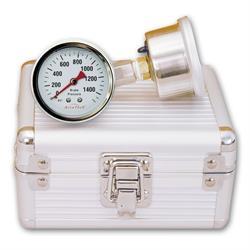 Longacre 44149 Quick Check Brake Pressure Gauge Set - 3/8 in.-24