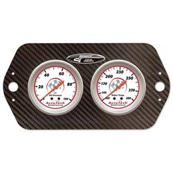 Longacre® 52-44421 AccuTech® Sprint Car Oil/Water Gauge