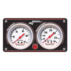 Longacre 44429 Econo Black Aluminum Panel w. Sportsman Gauges - OP,WT