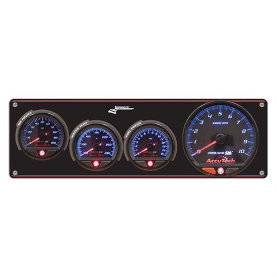Longacre 52-44473 3 Gauge Panel with AccuTech SMi Gauges