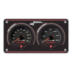 Longacre 44480 2 Gauge Panel with AccuTech WR SMi Gauges - OP,WT