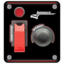 Longacre® 52-44863 Alum. Flip-Up Ign. Start Panel with Light