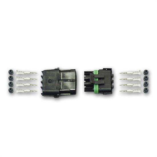 Longacre 44914 Weather Pack Connector Kit - 4 pin