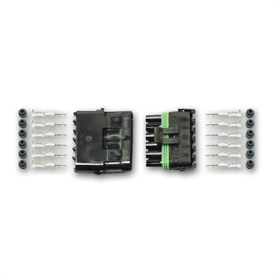Longacre 44916 Weather Pack Connector Kit - 6 pin