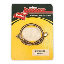 Longacre 45120 Brake line - 16 in. #4 w/ #4 AN both ends
