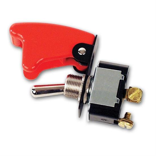 Longacre 52-45470 2 Terminal HD Ignition Switch w//Flip-Up Cover