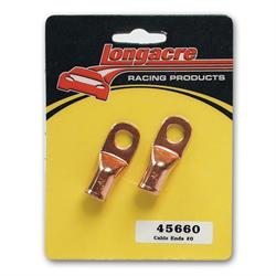 Longacre 45660 Battery cable ends (pair)