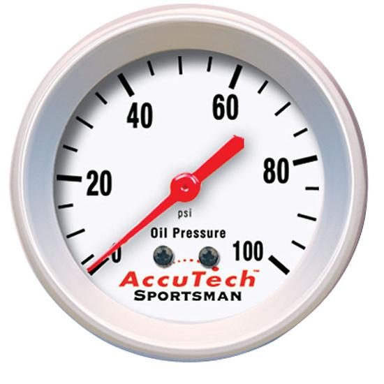 Longacre 902962 Accutech Oil Pressure Gauge