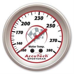 Longacre 46517 AccuTech Sportsman 2015 Aluminum Water Temp Gauge