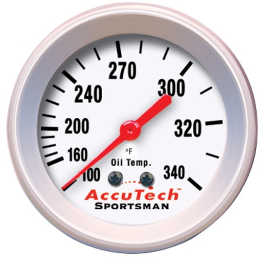 Accutech Oil Temperature Gauge